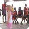 Enfants Maasais à Magadi