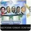 Le débat présidentiel au Kenya, un des deux candidats oublié
