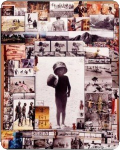Peter Beard - Son oeuvre, ses collages