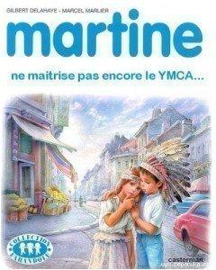 Album Martine parodié