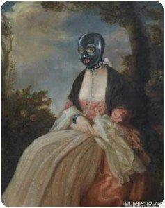Banksy - Masque à gaz
