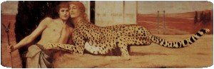 Caresses ou  Phinx de Fernand Khnopff