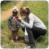 Gisele Brundchen au Kenya