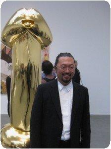 Murakami expo à Gagosian (crédit P.Nguyen)