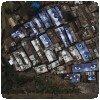 Les bâches de JR à Kibera