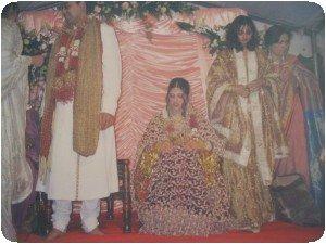 La mariée couverte d´or