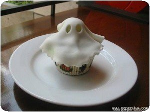 Halloween - Cake fantome
