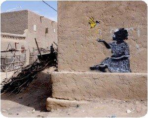 Banksy au Mali ?