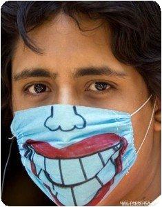 Pimp My Swine Flu Mask