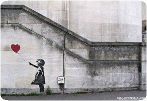 Banksy - Fille au ballon