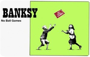 "Banksy - Sérigraphie ""No Ball Games"""