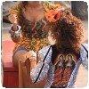 Beyonce en wax africain