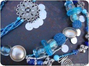 Bleu detail