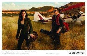 Bono en safari pour Louis Vuitton