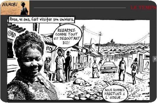 La vie des autres à Nairobi - © Chappatte