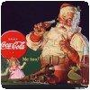 Un veille affiche du Père Noel