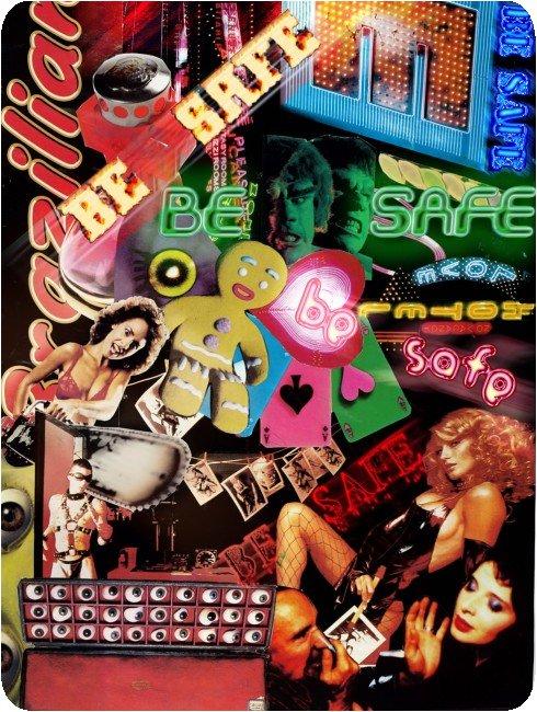SAFE collage pour le concours organisé par Don't Panic