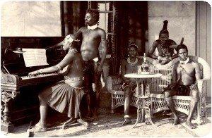 Les zulus s´entraînent pour les Commonwealth Games