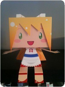 Murakami Origami Doll