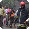 Feu au Nakumatt Dowtown - Nairobi Kenya