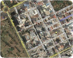 Google Maps - Nairobi City Center