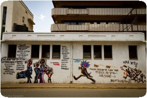 Graffiti à Nnairobi