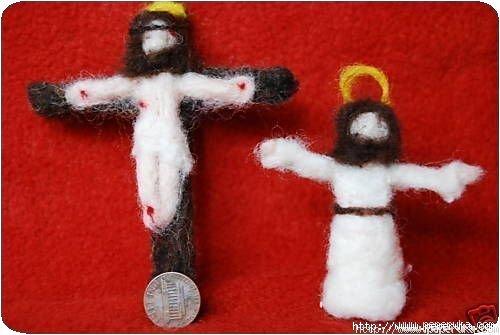 Jésus sur sa croix