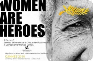 """Film de JR """"Women are Heroes"""" au Festival de Cannes"""