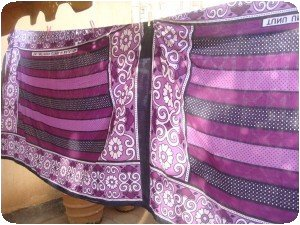 kanga violet