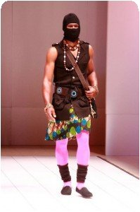 African Fashion Week New York - Blackbird Jean