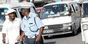 Policier au Kenya !