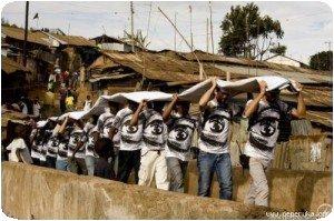 Kibera - JR - Action