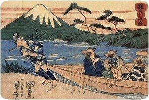 Pour transporter des gens le long de la rivière !!