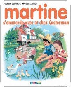 Martine se fait chiez chez Casterman