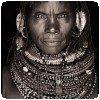 Photo noir et blanc d´un habitant du nord Kenya par John Kenny