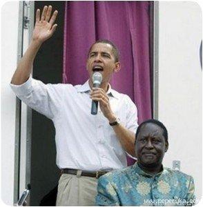 Obama et Odinga