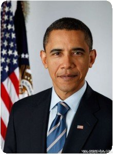 Le portrait officiel d'Obama