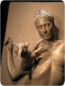 Paris Hilton nue avec son chihuahua