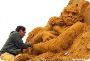 Sculpteur de sable (1)