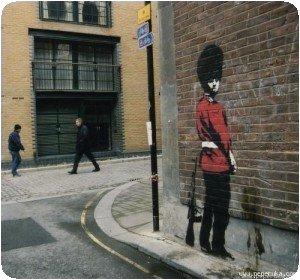 Banksy - Pipi