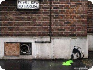 Banksy - Rat et poison