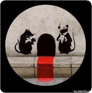 Banksy - Tapis rouge