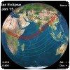 Une éclipse du soleil au Kenya !! » Eclipse du soleil au Kenya (NASA)