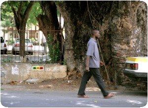 Space Invader à Mombasa