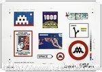 Space Invader - Sticker print