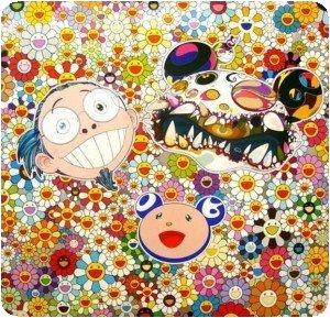 Takashi Murakami - Me and double DOB