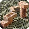 Des briques Tétris