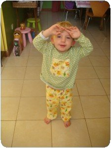 Pyjama tractopelle