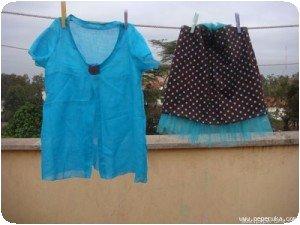Tunique et jupe