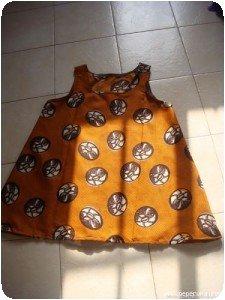 Tunique orange (1)